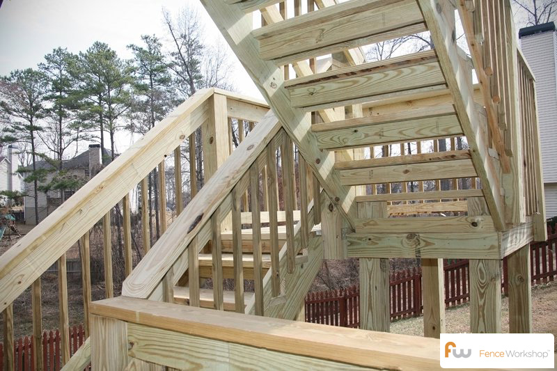 Deck design, sales and installation.