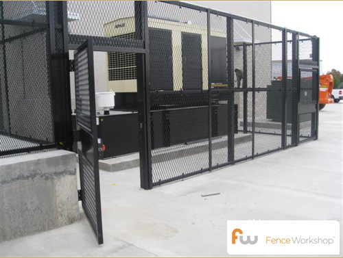 matrix security fencing