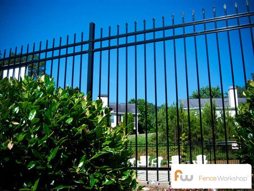 steel pool fencing