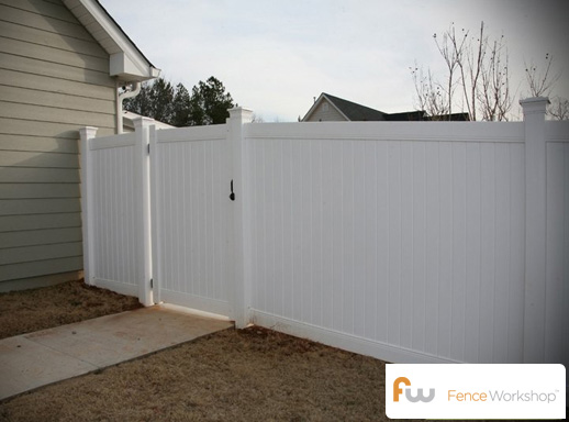 Vinyl pool fences