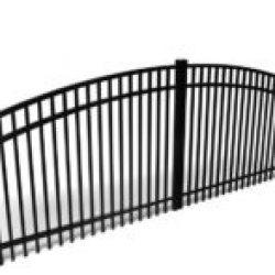 Brookhaven Arched Aluminum Driveway Gate