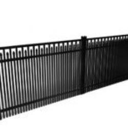 Chamblee Custom Double Picket Driveway Gate