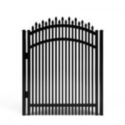 Dunwoody Alternating Spear Double-Spaced Aluminum Walk Gate