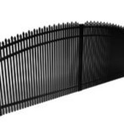 Dunwoody Double Picket Alternating Spear Driveway Gate