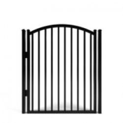 Savannah Smooth Top Aluminum Walk Gate