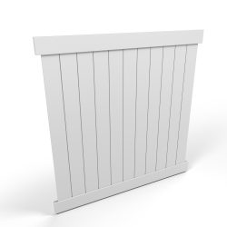 Vinyl Privacy Fence Panel