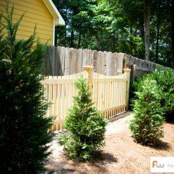 4 Foot Horizontal Wood Fence